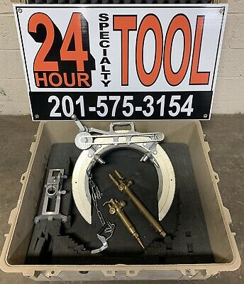 Mathey Dearman 2sa Manual Saddle Pipe Beveling Machine 6-12 Victor Torch