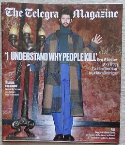 Ben Whishaw - Telegraph magazine – 5 May 2018