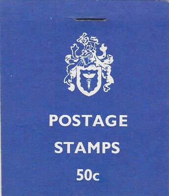 Rhodesia: 1974, 50c Booklet: sheet D type panes, MNH