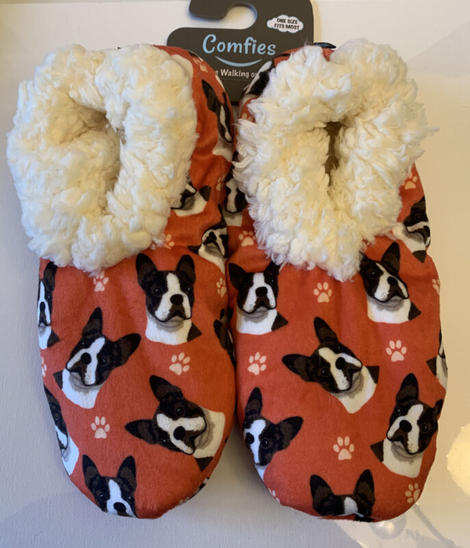Boston Terrier Unisex Slippers