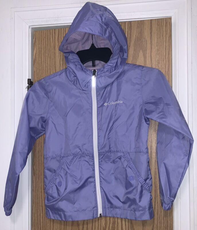 columbia girls rain jacket size XS