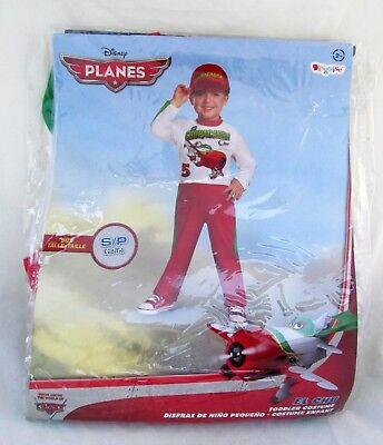 Disney Planes Chupacabra Crew Red Airplane S/P 2T Kids Toddler Halloween - Chupacabra Costume Halloween