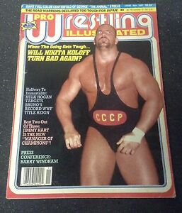 Pro wrestling illustrated magazine - NOV 1987