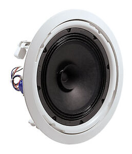 4 x JBL 8128 8-Inch Full-range In-Ceiling Speaker Ideal For Background Music