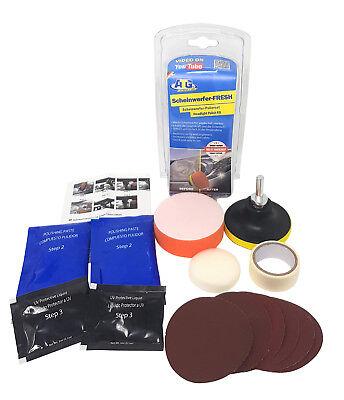 ATG Scheinwerfer-Fresh - Scheinwerfer Politur Aufbereitung Reparatur Polier Set