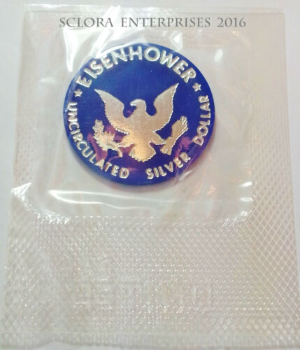 1971 - 1974 SILVER EISENHOWER TOKEN   *IN MINT CELLO*   **FREE SHIPPING**