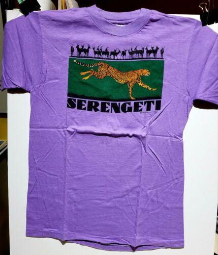 Serengeti / Africa / Tanzania Tee Shirt / Medium / New / Rare