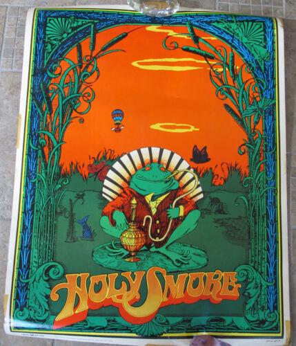 WOW RARE ORIGINAL VINTAGE 1967 Holy Smoke Bob Fried Poster #3