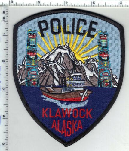 Klawock Police (Alaska) 3rd Issue Shoulder Patch
