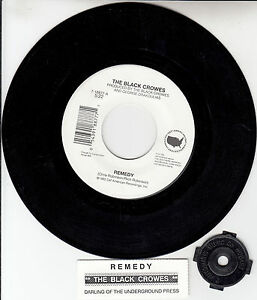 BLACK-CROWES-THE-Remedy-7-45-rpm-vinyl-record-juke-box-title-strip-RARE