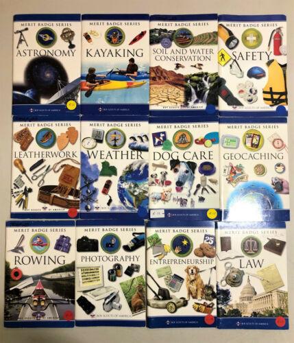 Lot of 24 Boy Scouts of America Merit Badge Series Paperbacks