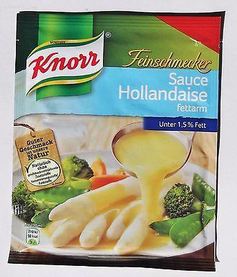 5x Knorr Feinschmecker - Salsa Holandesa Bajo en grasa, bajo 1,5% Fett