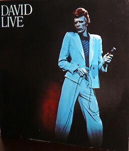 DAVID BOWIE 2 LP G.C. DAVID LIVE 1974 GERMANY - Italia - DAVID BOWIE 2 LP G.C. DAVID LIVE 1974 GERMANY - Italia