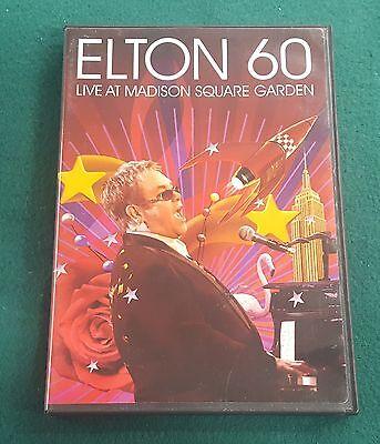 Elton 60: Live At Madison Square Garden (DVD, 2007) 2 Disc Collector's Set