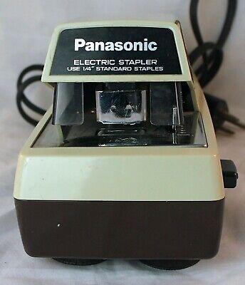 Panasonic Electric Stapler Model As-300 14 Standard Staples Durable