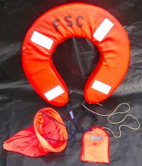 TWO Horseshoe Lifebuoys in Storage bags with Extras Ashfield Bassendean Area Preview