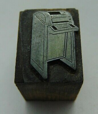 Vintage Printing Letterpress Printers Block Copy Machine