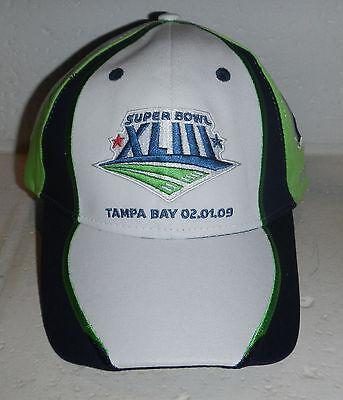 9e52735f2 NWT Super Bowl XLIII 43 Pittsburgh Steelers Tampa Bay Baseball Hat Cap by  Reebok