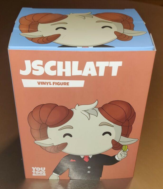 Jschlatt Original Youtooz Figure With Schlatt Coin Unscratched Code