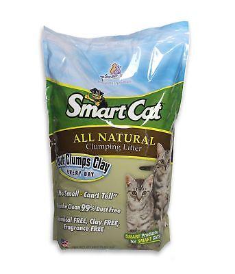 SmartCat All Natural Clumping Litter, (Smartcat All Natural Clumping Litter 20 Pound)
