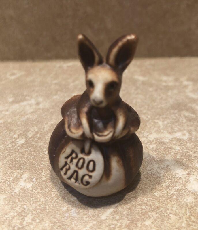 Swagman Pottery ROO BAG Kangaroo Figurine