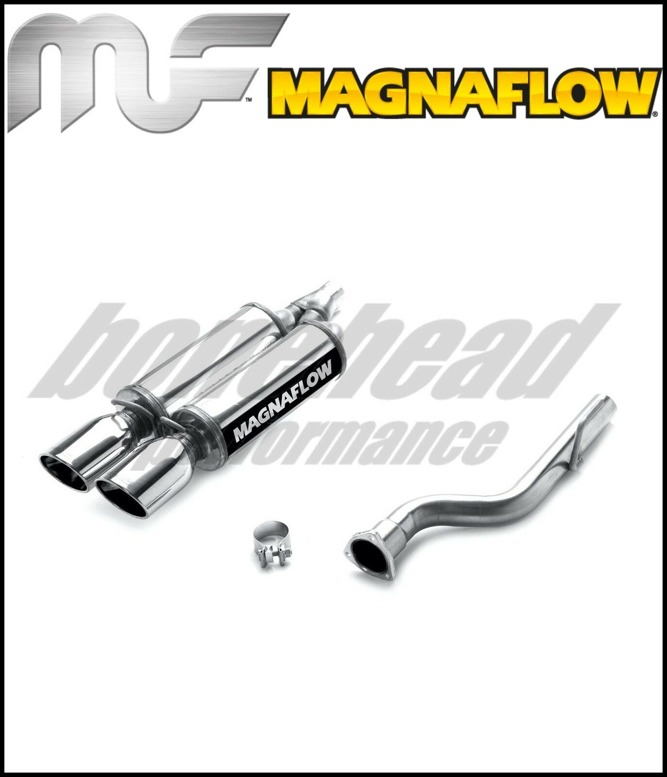 Magnaflow 16633: Cat Back Exhaust 2004-2008 Crossfire 3.2L