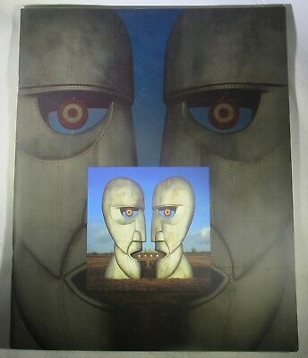 """Pink Floyd Tour Book1994 Division Bell North America Beautiful 12"""" x 9 3/4"""