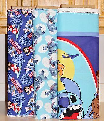 Disney Lilo & Stitch Panel & Coordinating Fabrics bty SOLD SEPARATELY