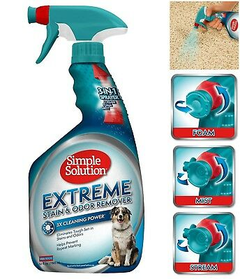 Extreme Dog Cat Pet Stain and Odor Remover w/ Pro-Bacteria and Enzyme Formula