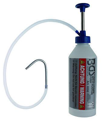 BGS! Einfüllpumpe, Behälter Pumpe, Handpumpe, Öl Wasser Notpumpe