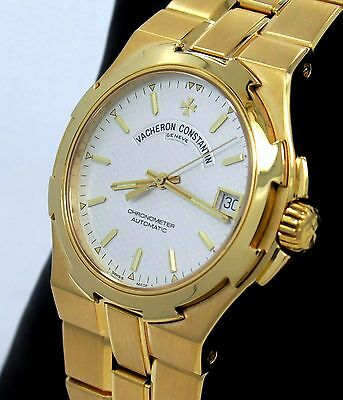 Vacheron Constantin Overseas 42050/423J 18K Yellow Gold Automatic MINT CONDITION