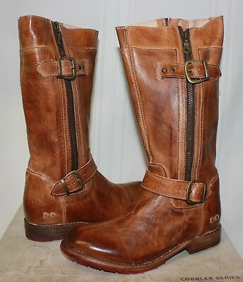 Bed Stu Women's GoGo Tan Rustic Leather boots New With Box!](Brown Gogo Boots)
