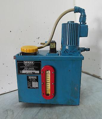 Vogel Centralized Automatic Lubricator Mfe5bw6 220v Used Warranty