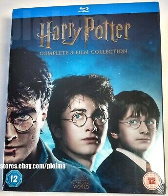HARRY POTTER The Complete 8-Film 16-DISC Collection Brand New BLU-RAY SET