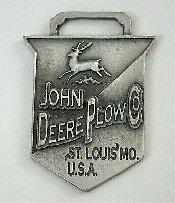 Vintage John Deere St Louis 2004 NOS Farm Series Pocket Watch FOB LE 1000