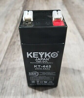 AGM Brand 4V 4.5ah Replacement battery for Zareba SP44 Keyko BEST