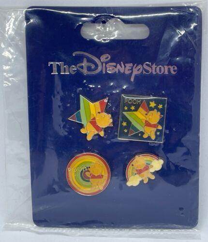 Disney Store JAPAN Pin 4206 JDS Rainbow Mini Pooh Set