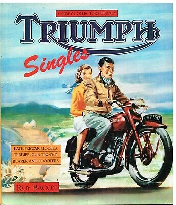 TRIUMPH TERRIER CUB TIGRESS TINA TROPHY BLAZER 1934-1970 PRODUCTION HISTORY BOOK
