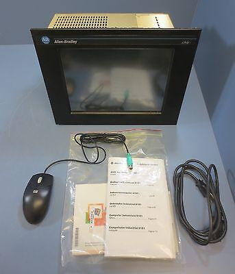 Allen Bradley Industrial Computer 6181-cgedbczzz Ser B 100-120200-240 Vac
