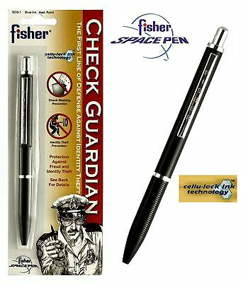 Fisher Space Pen #SCG1 / Security Check Guard Tamper Resistant Ink Pen
