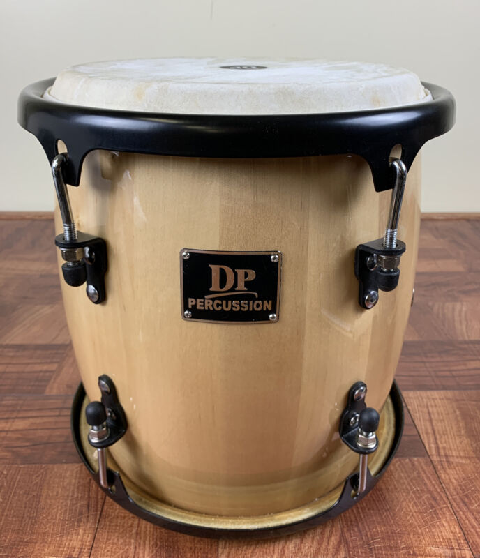 Professional Tambora Natural Color, With Sticks, Strap, Tuning Key And Bag