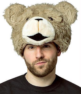 Erwachsene Gemütlicher Teddybär Ted 2 Film Plüsch Hut Kopfbedeckung - Teddy Bär Kostüm Kopf