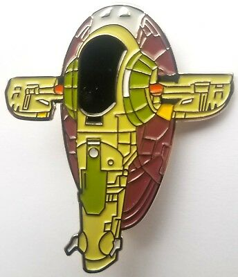Star Wars - Boba Fett's Slave 1 Ship Enamel Pin - Boba Fett Female