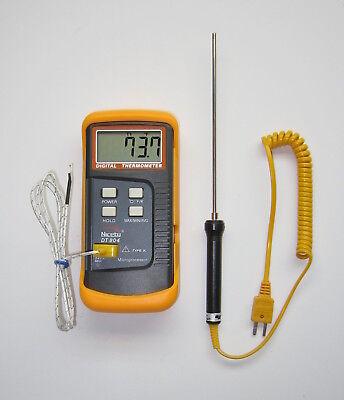 K-type Digital Thermometer Thermocouple Stainless Temperature Sensor Probe Tc-3