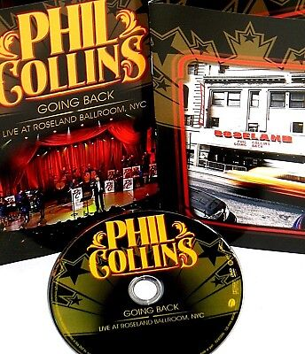 Phil Collins  Going Back Live At Roseland Ballroom Nyc Dvd Concert Music Soul