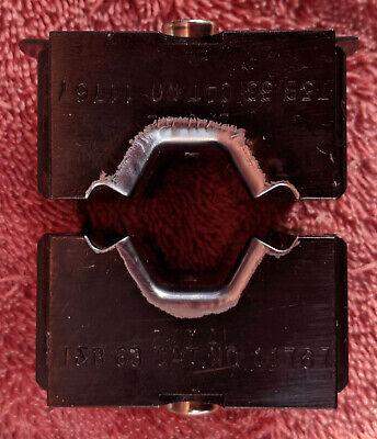 Thomas Betts T B 11767 20 Al Die Set For 13642 12 Ton Crimper Head