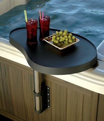 Hot Tub Spa Tray Caddy Table  Drinks Holder Side Mounted Spa Bar by Yourspa