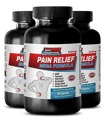 joint pain relief supplements - PAIN RELIEF MEGA FORMULA 610MG 3B - best