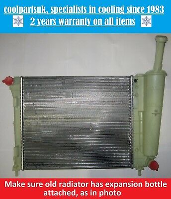 BRAND NEW RADIATOR FORD KA 2008 TO 2016  FIAT 500500CPANDA 2012 ON 12 PETROL