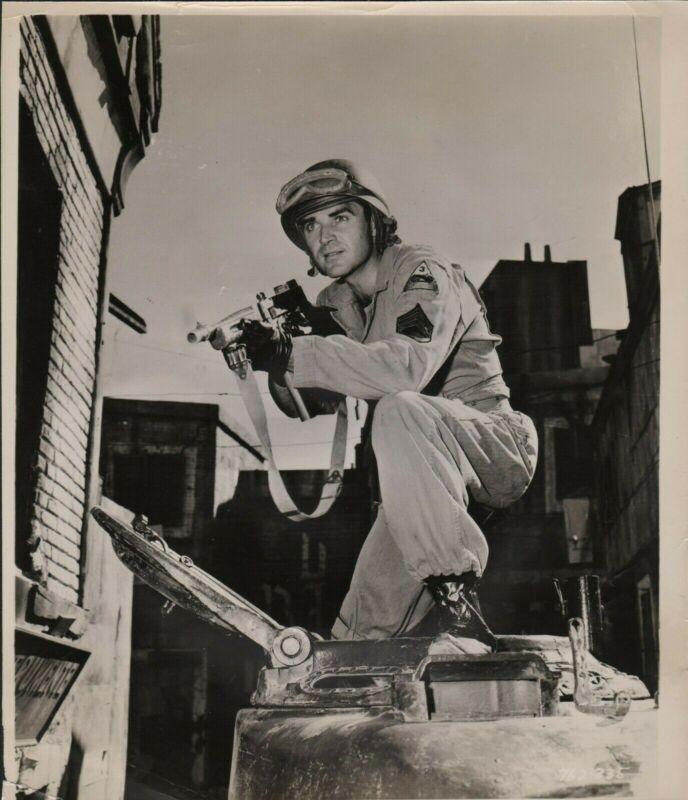 "STEVE COCHRAN in ""Tanks are Coming"" - Original Vintage PORTRAIT - 1951"